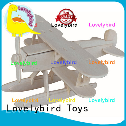Lovelybird Toys best 3d wooden puzzle car supply for present