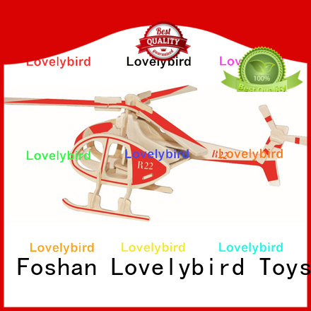Lovelybird Toys top 3d wooden car puzzle company for adults