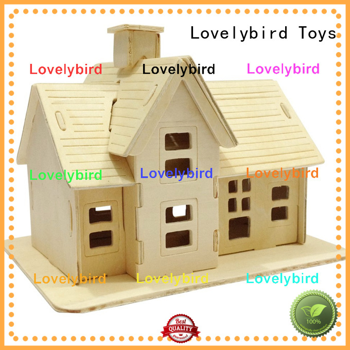 Lovelybird Toys best 3d building puzzle factory for present