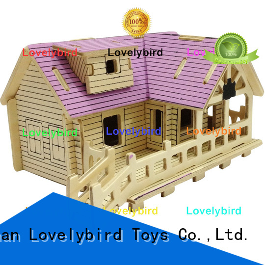 Lovelybird Toys good selling 3d building puzzle factory for adults