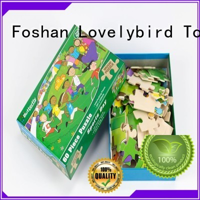Lovelybird Toys high quality best wooden jigsaw puzzles good selling for kids