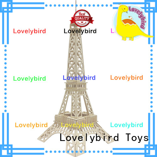 Lovelybird Toys 3d building puzzle supply for business