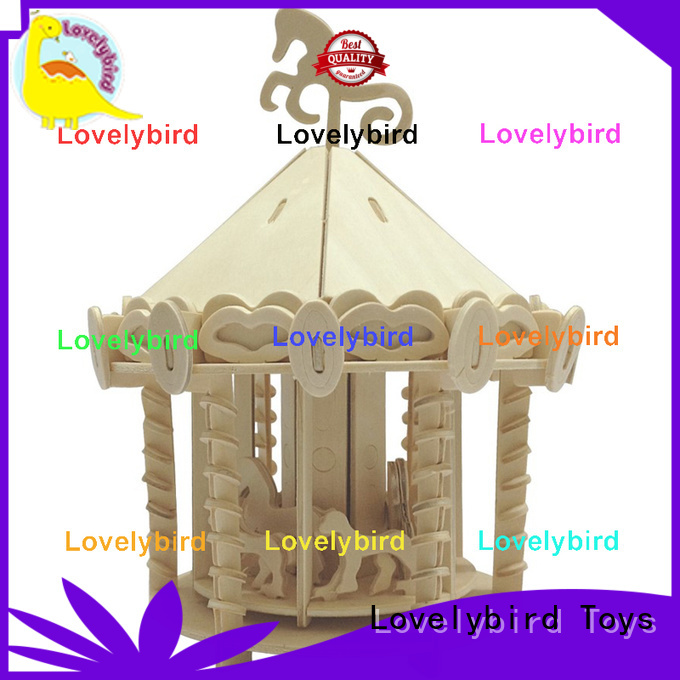 high-quality 3d wooden puzzle house manufacturers for kids