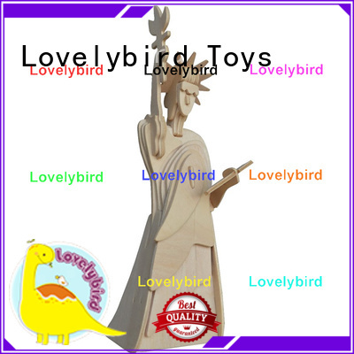 Lovelybird Toys high-quality 3d wooden house puzzles factory for adults