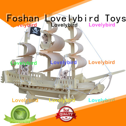 Lovelybird Toys new 3d wooden puzzle car supply for business