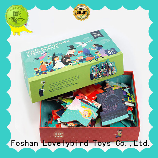Lovelybird Toys 48 piece puzzle manufacturer for present