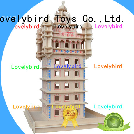 Lovelybird Toys custom 3d building puzzle manufacturers for present