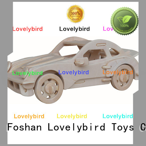Lovelybird Toys high-quality 3d wooden puzzle ship supply for sale