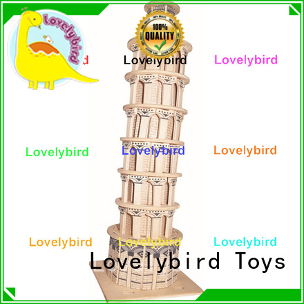 Lovelybird Toys high-quality 3d building puzzle supply for adults