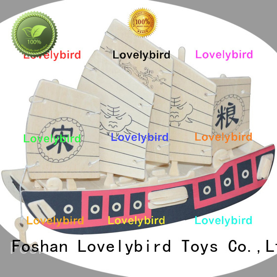 Lovelybird Toys new 3d airplane puzzle company for adults
