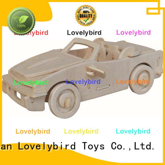 new 3d wooden puzzle car suppliers for adults