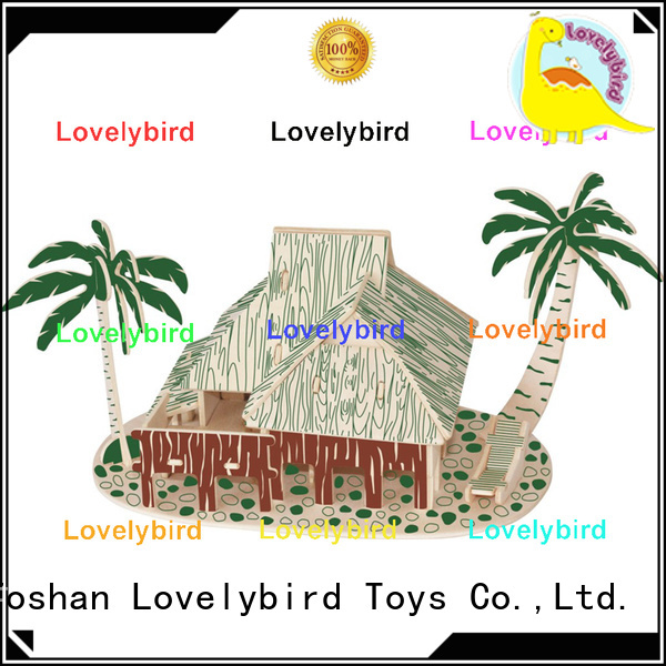 Lovelybird Toys 3d building puzzle suppliers for adults