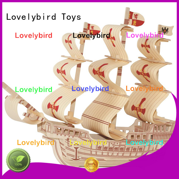 Lovelybird Toys best 3d airplane puzzle company for kids
