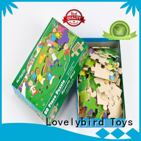 educational wooden puzzles for toddlers with frame for sale
