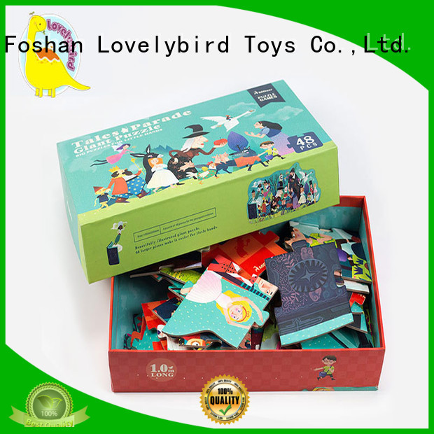 Lovelybird Toys 48 piece puzzle supplier for games