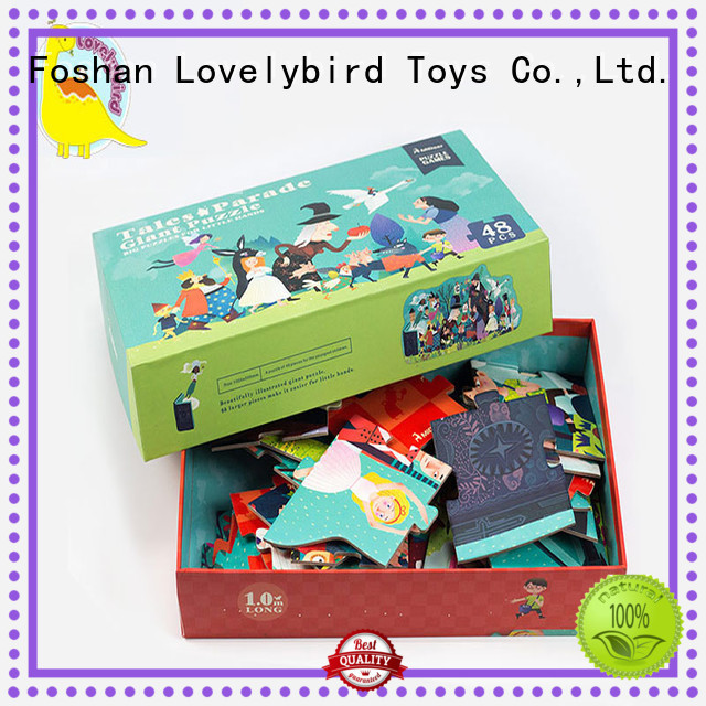 funny cool jigsaw puzzles superior quality for present Lovelybird Toys