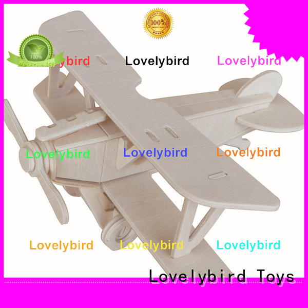 Lovelybird Toys top 3d wooden puzzle ship supply for present