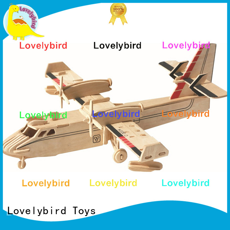 Lovelybird Toys custom 3d puzzle military supply for adults