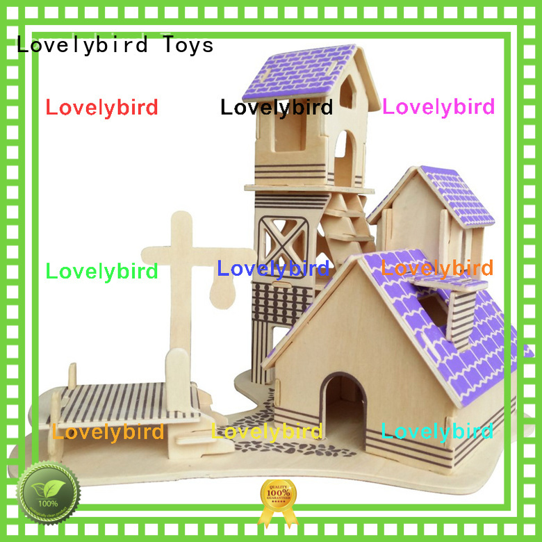Lovelybird Toys top 3d building puzzle suppliers for present