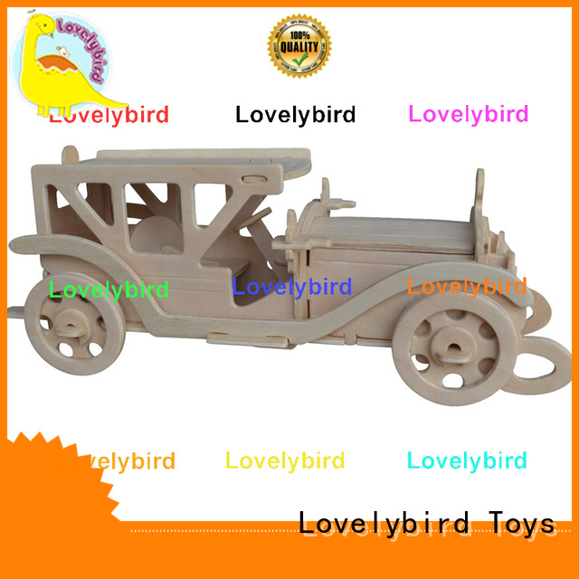 Lovelybird Toys latest 3d wooden puzzle car company for present