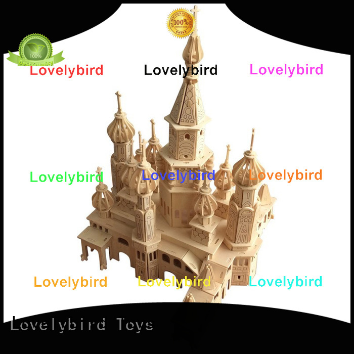Lovelybird Toys new 3d wooden house puzzles manufacturers for adults