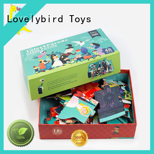 Lovelybird Toys educational amazing jigsaw puzzles wholesale for entertainment