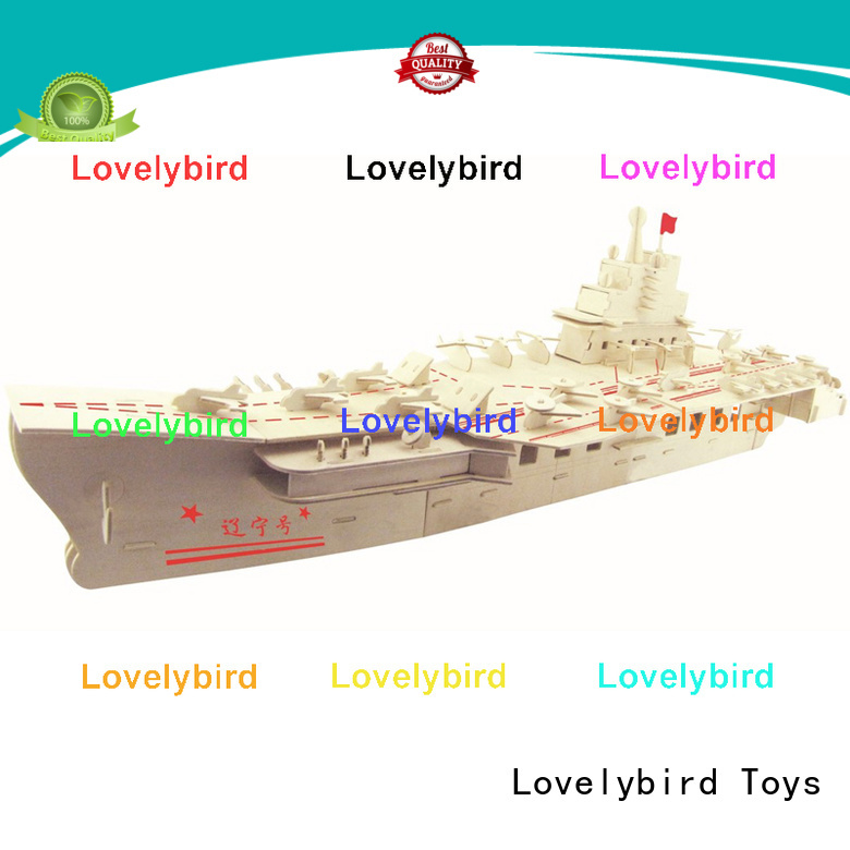Lovelybird Toys latest 3d puzzle military suppliers for kids