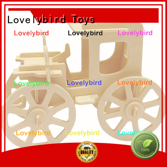 top 3d wooden car puzzle suppliers for kids