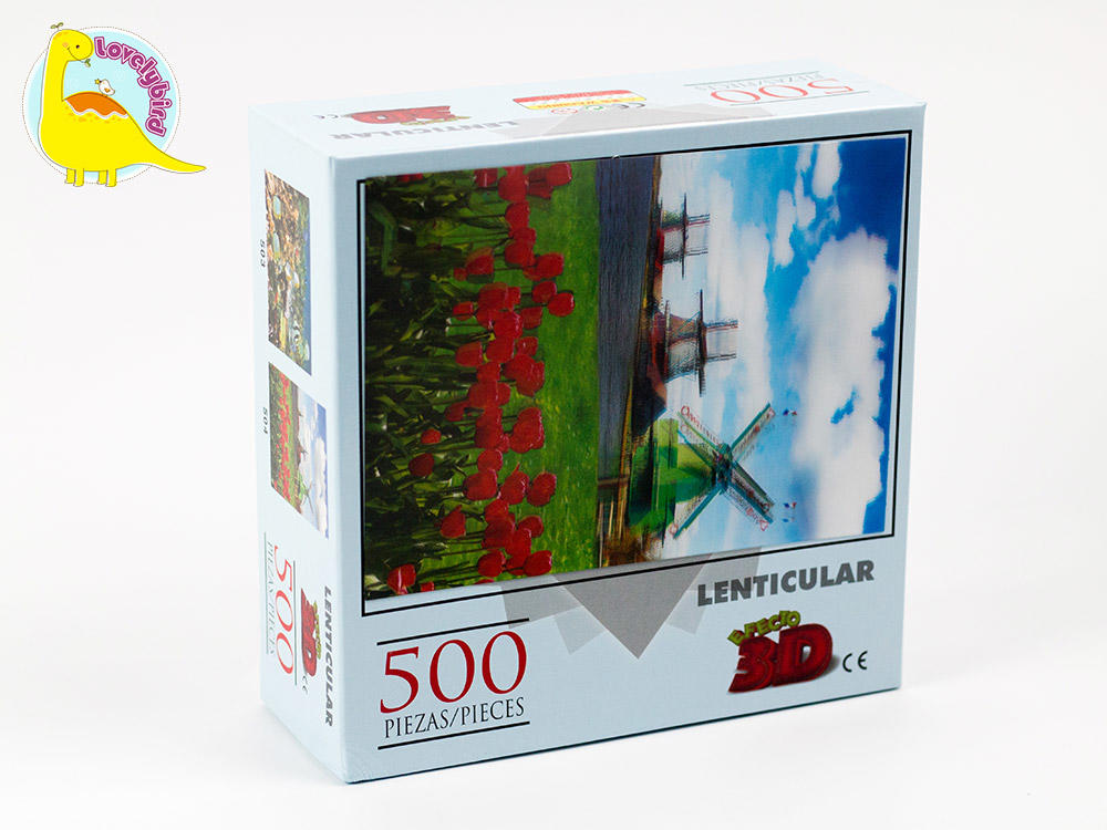 round 500 jigsaw puzzles toy for sale-3